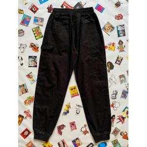 Черные штаны Stussy