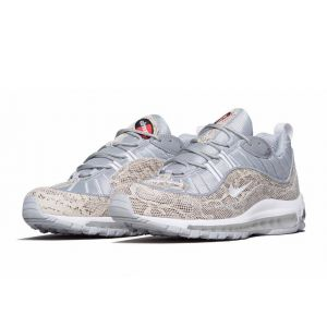 Nike Air Max 98 Supreme White Grey