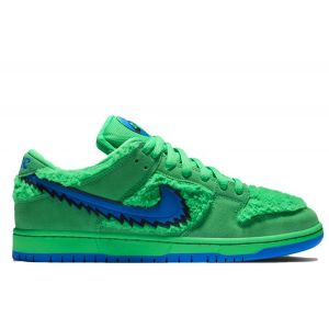 Nike-SB-Dunk-Low-x-Grateful-Dead-«Electric Green»
