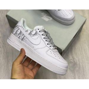 женские кроссовки Nike Air Force 1 Dior