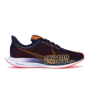 Nike Zoom Pegasus 35 Turbo Blackened Blue Orange Peel